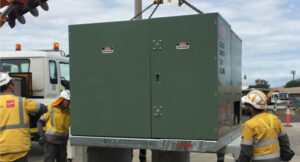 Approved Powercor Kiosk distribution substations